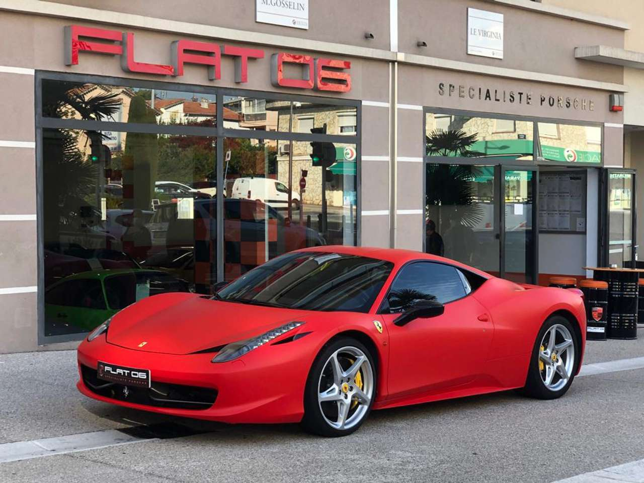 FERRARI 458 Italia 4.5 V8 570ch occasion