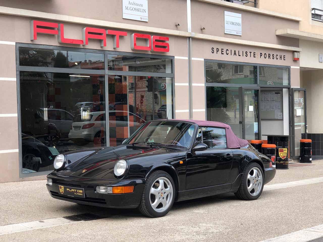PORSCHE 964 Carrera 2 250cv CAB Cabriolet / Convertible 06/1990